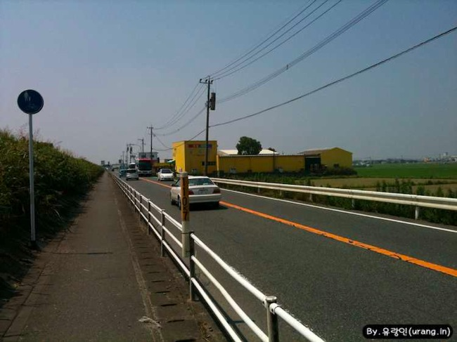 Japan bicycle road country