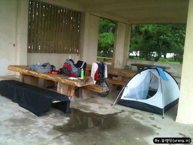 Japan camping park