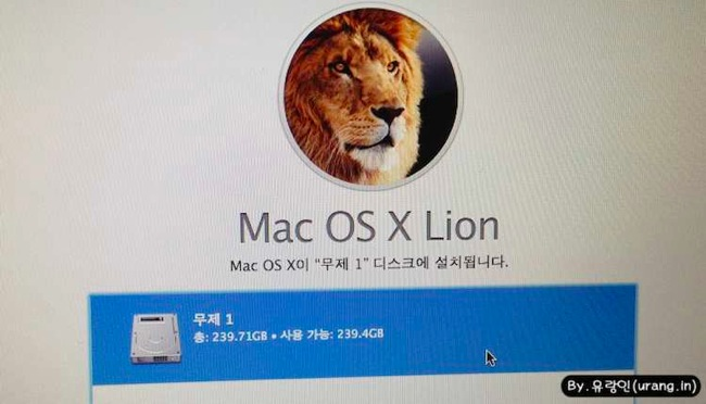 Macbook Air OSX install