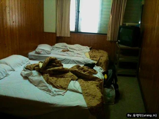 Tiwan staying at hotel