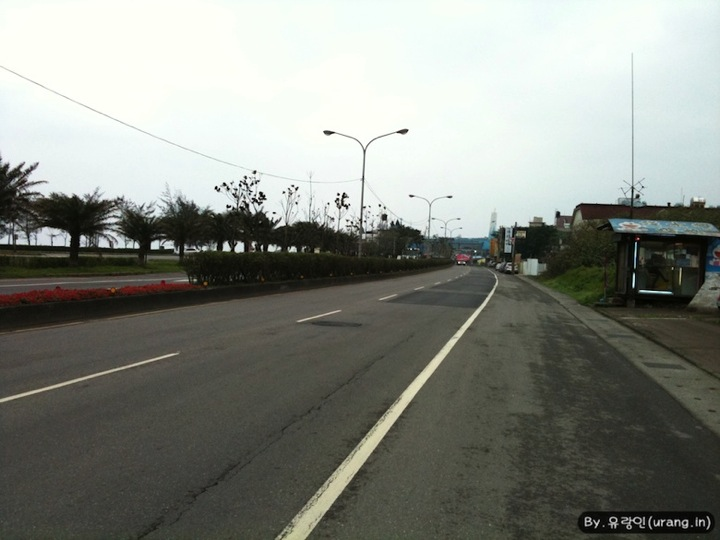 Bicycle Road in Danshui