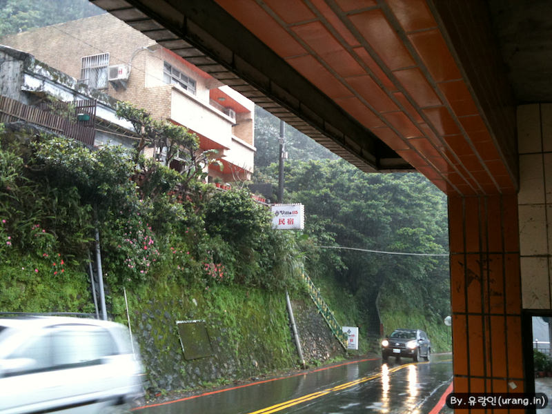 Rainy in jiufen