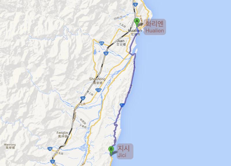 Route Hualien Jici