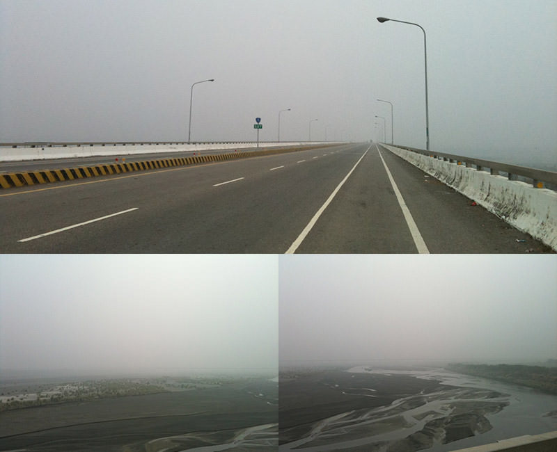 Cihtong to Zhanghua bridge