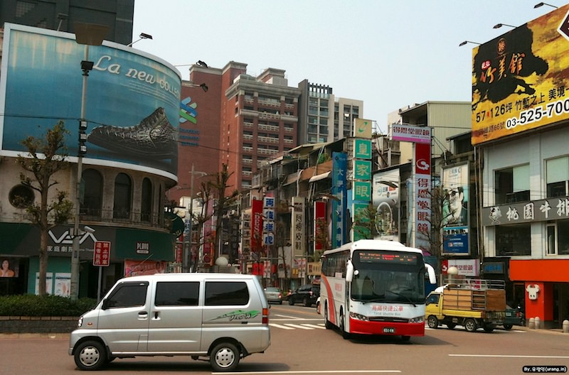 City of Hsinchu in Taiwan