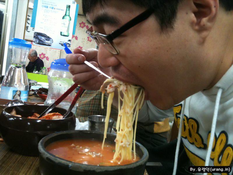 부산에서 국밥먹기
