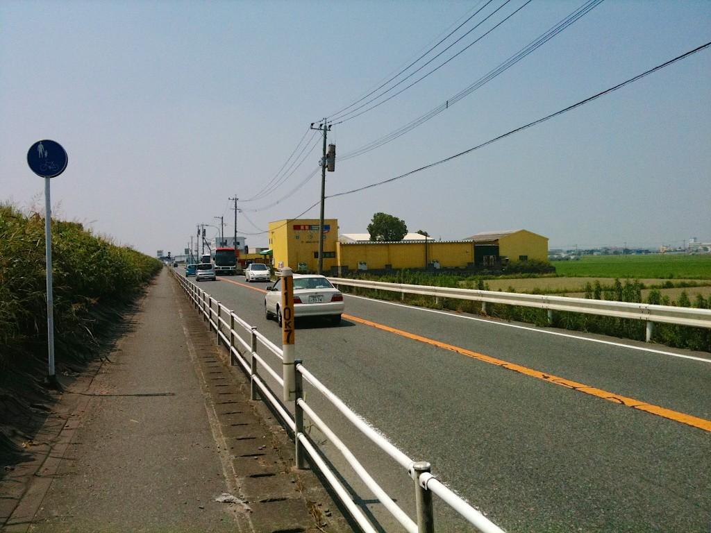 다자이후에서 구루메를 이어주는 3번 국도