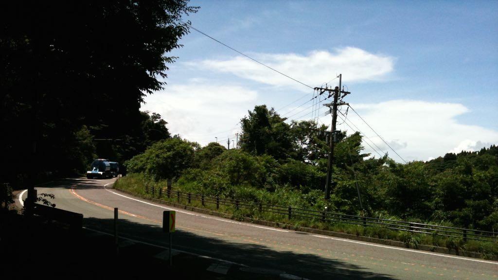 아소에서 타케타 가는 57번 국도