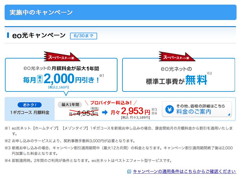 일본 인터넷 업체의 프로모션