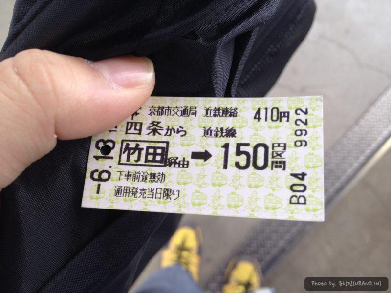 후시미 모모야마역 가는 길
